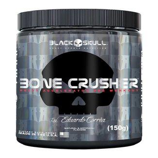 Pré-Treino Bone Crusher 150 g By Eduardo Corrêa - Black Skull