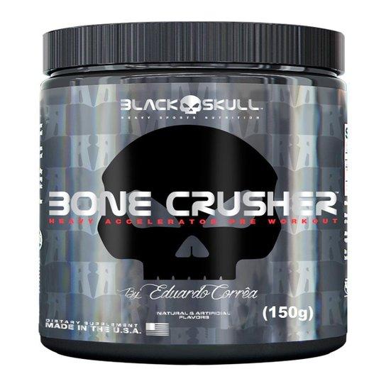 Pré-Treino Bone Crusher 150 g By Eduardo Corrêa - Black Skull -