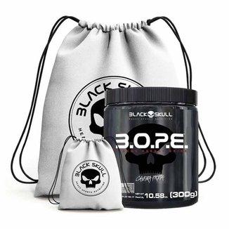 Pre Treino Bope 300G + Mochila  - Black Skull (Fruit Punch)