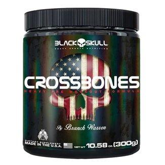 Pré Treino Crossbones 300g  By Branch Warren - Black Skull