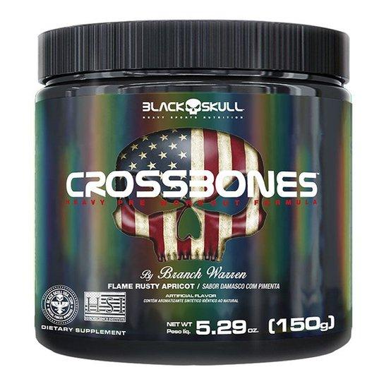 Pré Treino Crossbones Black Skull By Branch Warren 150g -