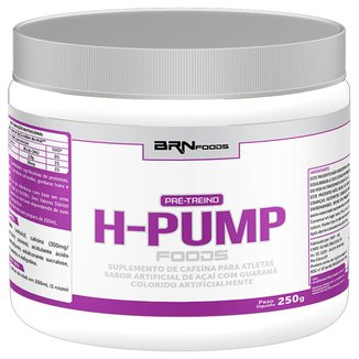 Pré Treino H-Pump 250 g - BRN Foods