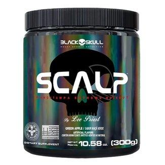 Pré Treino Scalp Maçã Verde 300g - Black Skull