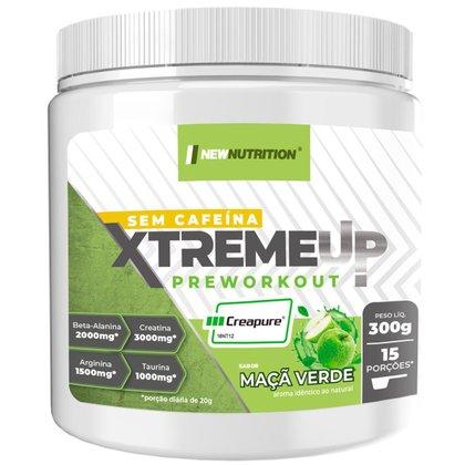 Pré Treino XtremeUp Sem Cafeína Maçã Verde 300g NEWNUTRITION