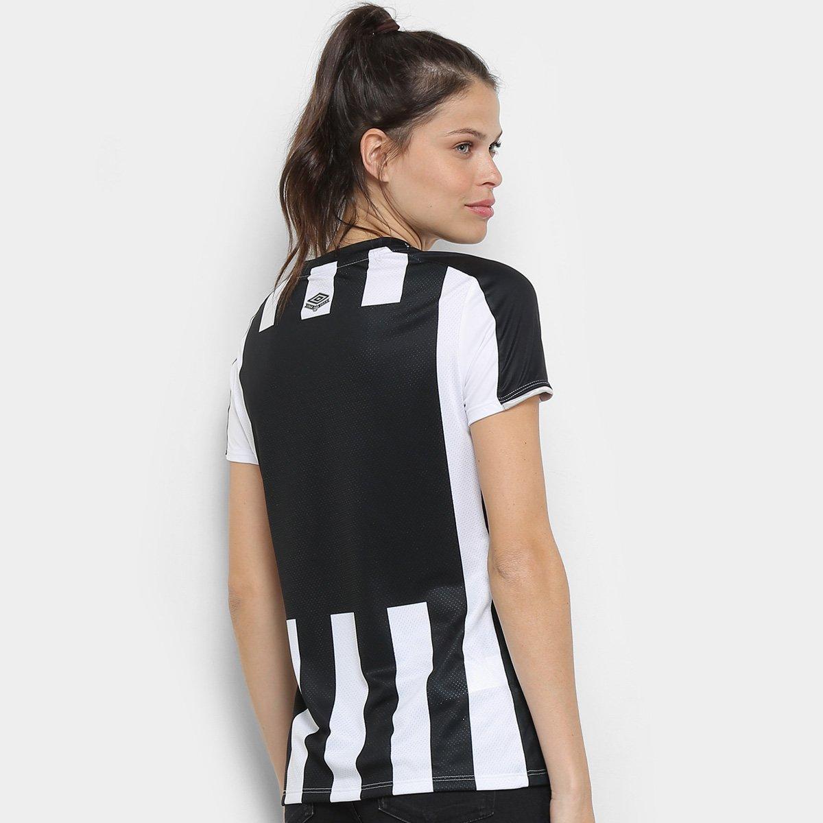 bb592ddd9 ... Pré-Venda Camisa Santos II 2019 s nº Torcedor Umbro Feminina ...