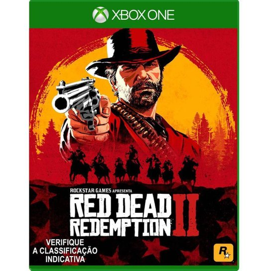 Pré-Venda Jogo Red Dead Redemption 2 Xbox One - Incolor