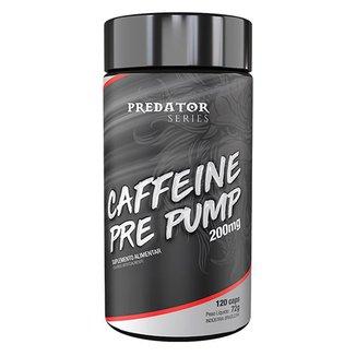 Predator Caffeine Pre Pump 200Mg 120 Cápsulas - Nutrata
