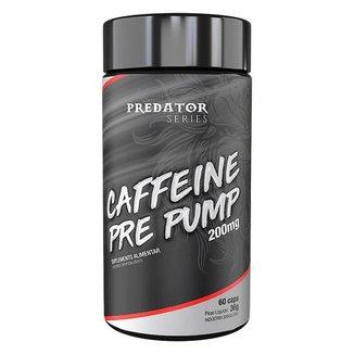 Predator Caffeine Pre Pump 200Mg 60 Cápsulas - Nutrata