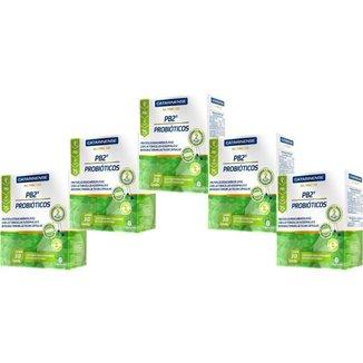 Probióticos PB2 30 com 5 unidades 30 cápsulas cada Catarinense