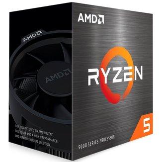Processador AMD Ryzen™ 5 5600X - 12 Threads - Turbo 4.6GHz - Cache 35MB - AM4 - 100-100000065BOX