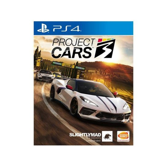 Project Cars 3 para PS4 Slightly Mad Studios - Incolor