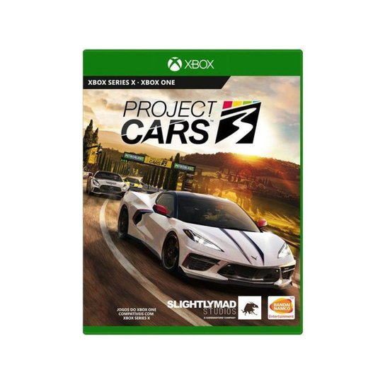 Project Cars 3 para Xbox One Slightly Mad Studios - Verde