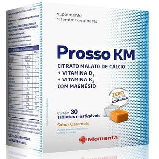 Prosso KM Citrato Malato de Cálcio 30 tabletes mastigáveis