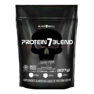Protein 7 Blend Black Skull Refil - 837 g