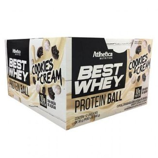 Protein Ball Best Whey 12 Unidades Atlhetica Nutrition