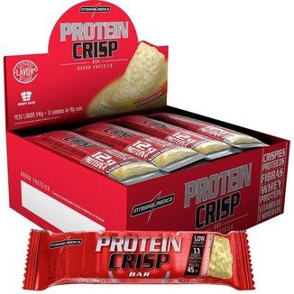 Protein Crisp Bar 12 barras Cheesecake Frutas Vermelhas - IntegralMedica