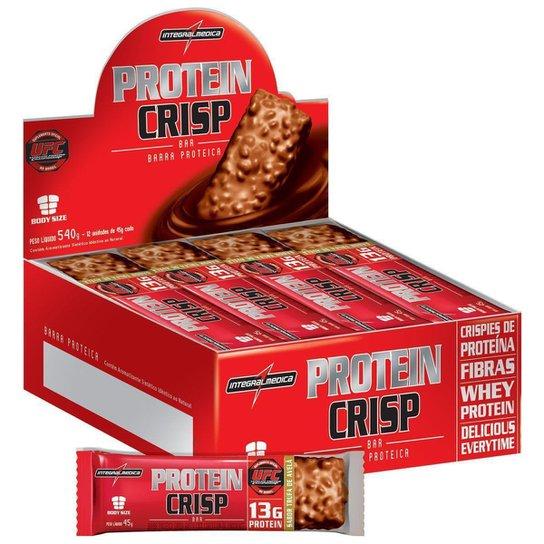 Protein Crisp Bar 12 barras Maracujá - IntegralMedica -
