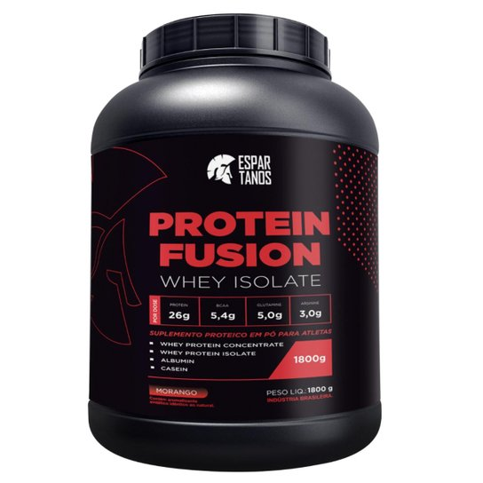 Protein Fusion Whey Isolate 1,8Kg - Espartanos Nutrition -