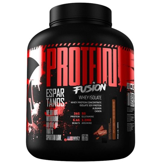 Protein Fusion Whey Isolate 1,8Kg - Espartanos Nutrition -