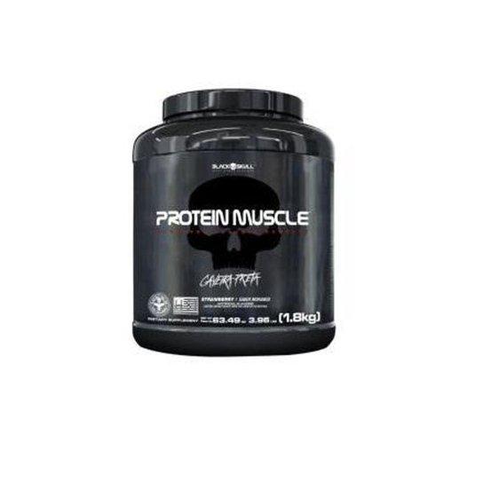 Protein Muscle 1,8kg - Black Skull -