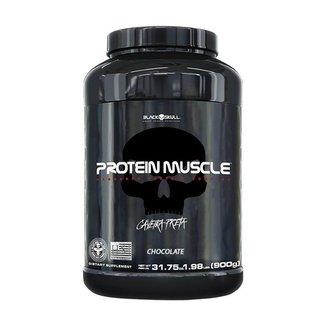 Protein Muscle - 900g - Black Skull