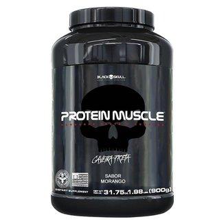Protein Muscle 900gr - Black Skull
