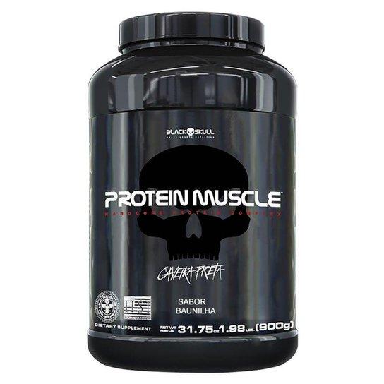 Protein Muscle 900gr - Black Skull -