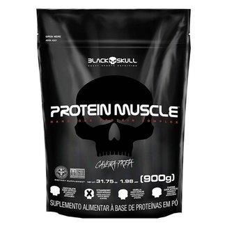 Protein Muscle Blend (900G - Refil) - Black Skull
