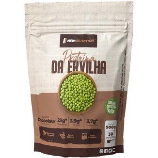 Proteina Isolada da Ervilha All Natural 900g Chocolate NEWNUTRITION