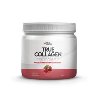 Proteina True Collagen - True Source Cranberry Hibisco 420g