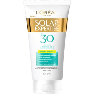 Protetor Corporal L'Oreal Paris Solar Expertise Supreme Protect 4 FPS 30 120ml