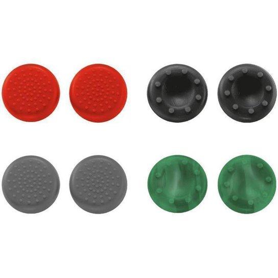 Protetor de Analógico PS4 de Silicone Trust - Colorido