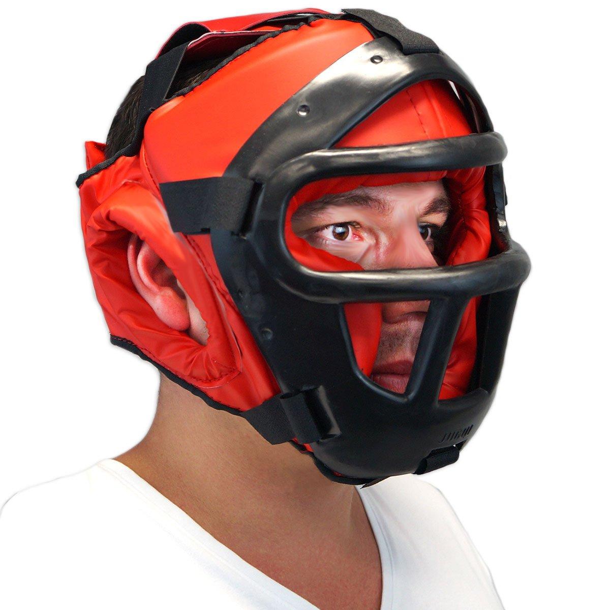 Protetor de cabeça c  grade Jugui - Vermelho - Compre Agora   Netshoes 89cd6b0f9c
