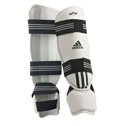 Protetor De Canela E Pé Taekwondo Adidas Wtf - Unissex