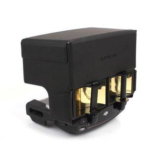 Protetor de Sol e Amplificador de Sinal Controle DJI Spark e Mavic (Pro / Air / 2 / Mini)