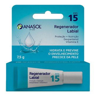 Protetor Labial Regenerador Anasol – Lip Care FPS15 7,5g