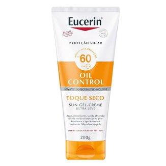 Protetor Solar Corporal Eucerin Sun Toque Seco FPS 60 200ml
