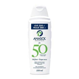 Protetor Solar Corporal Loção Toque Seco - 350 ml FPS 50 - Anasol