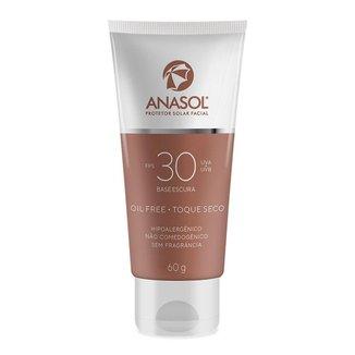 Protetor Solar Facial Anasol FPS30 - Base Escura 60g