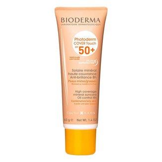 Protetor Solar Facial Bioderma Photoderm Cover Touch FPS 50+ Claro