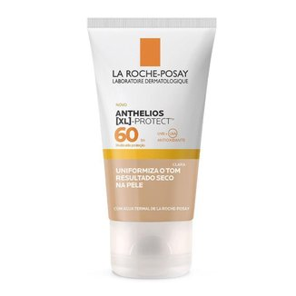 Protetor Solar Facial com Cor La Roche Posay – XL Protect FPS 60 Clara