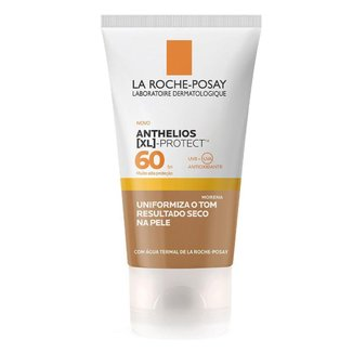 Protetor Solar Facial com Cor La Roche Posay – XL Protect FPS 60 Morena