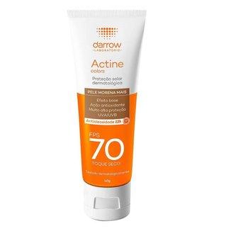 Protetor Solar Facial Darrow – Actine Colors FPS70 Pele Morena Mais