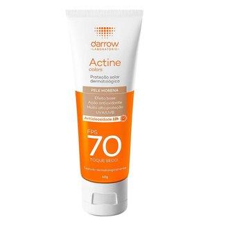 Protetor Solar Facial Darrow – Actine Colors FPS70 Pele Morena