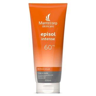 Protetor Solar Facial e Corporal Mantecorp Skincare – Episol Intense FPS60 200ml