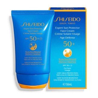 Protetor Solar Facial Shiseido - Expert Sun Protection Cream Fps50+ 50ml