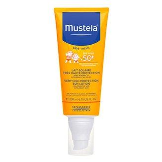 Protetor Solar Mustela - Protetor Solar Infantil Mustela Fps50+ 200ml