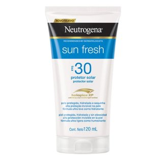 Protetor Solar Neutrogena Sun Fresh Corpo FPS 30 120 ml