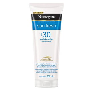 Protetor Solar Neutrogena Sun Fresh Corpo FPS 30 200ml
