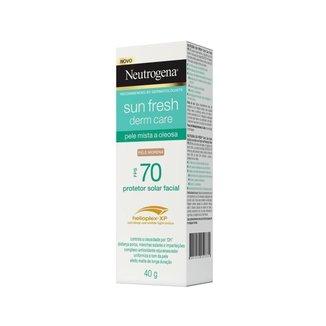 Protetor Solar Neutrogena Sun Fresh Pele Oleosa Morena FPS 70 40g